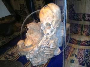 Découverte d'une momie non-humaine